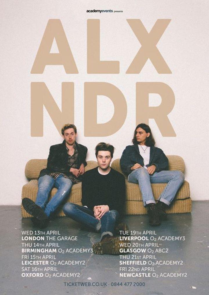 ALXNDR Tour Dates