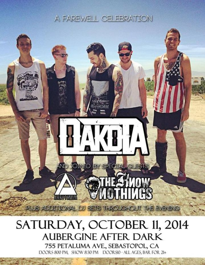 Dakota Tour Dates