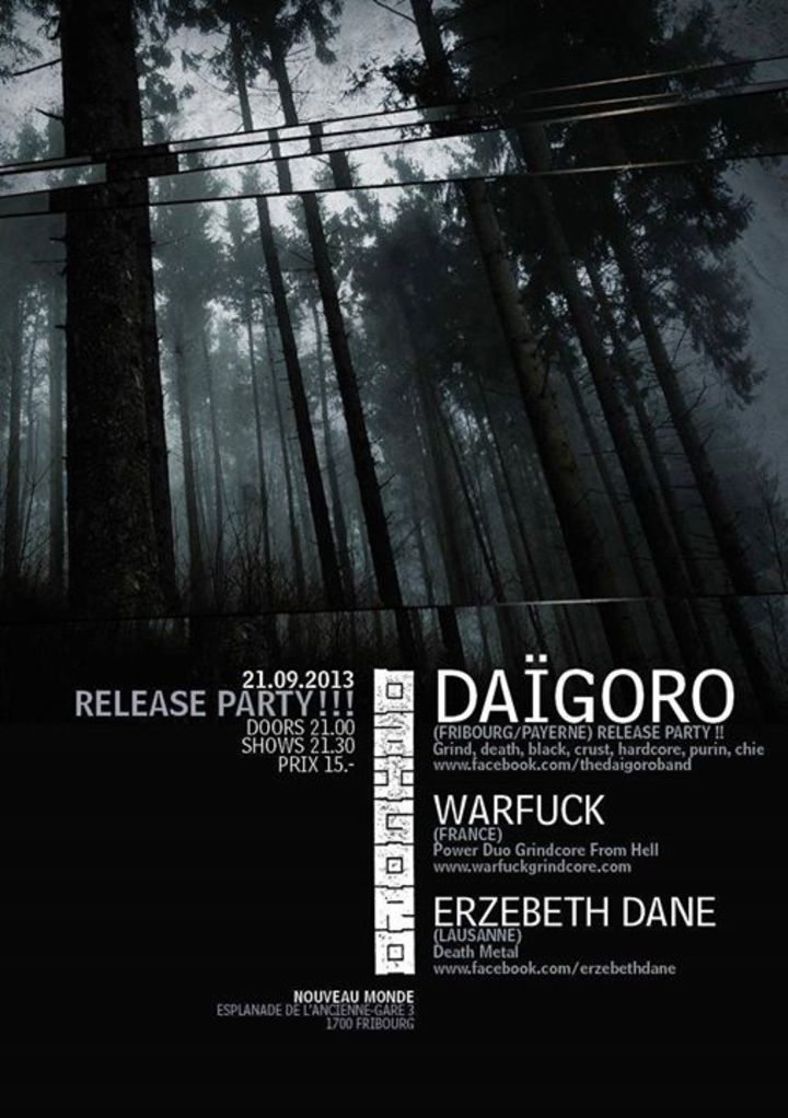 Daigoro Tour Dates