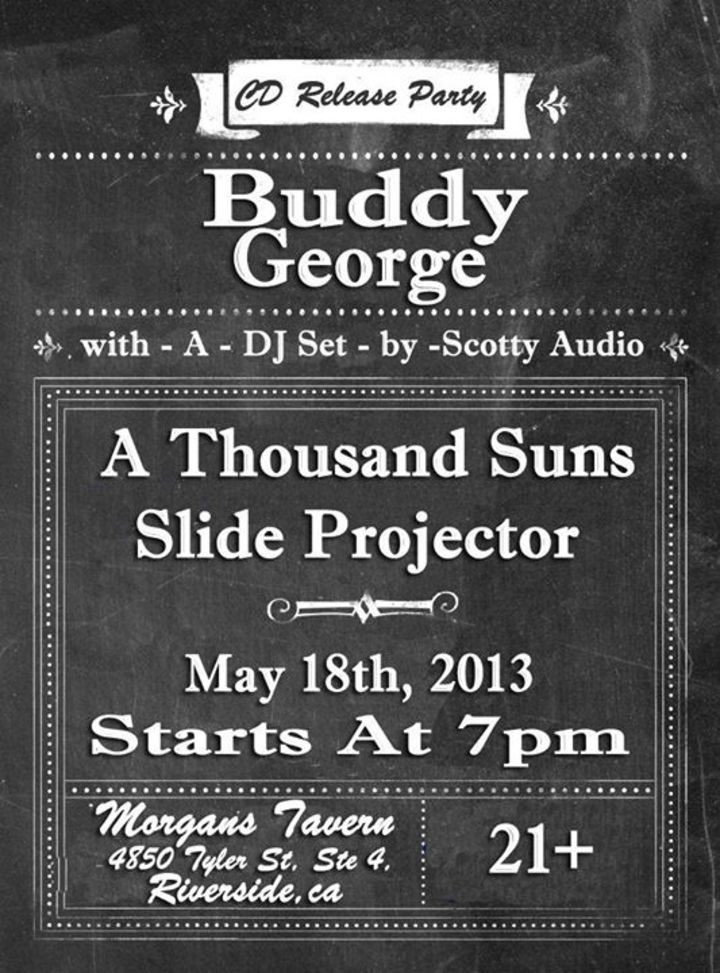 Buddy George Tour Dates