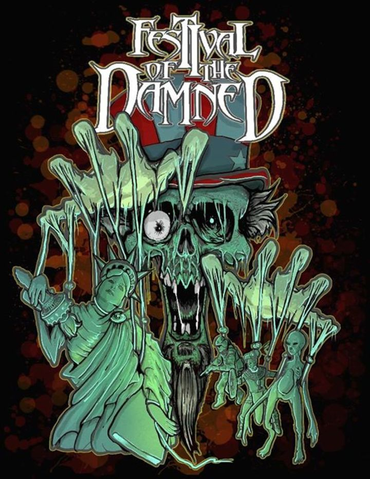 Festival of the Damned Tour Dates