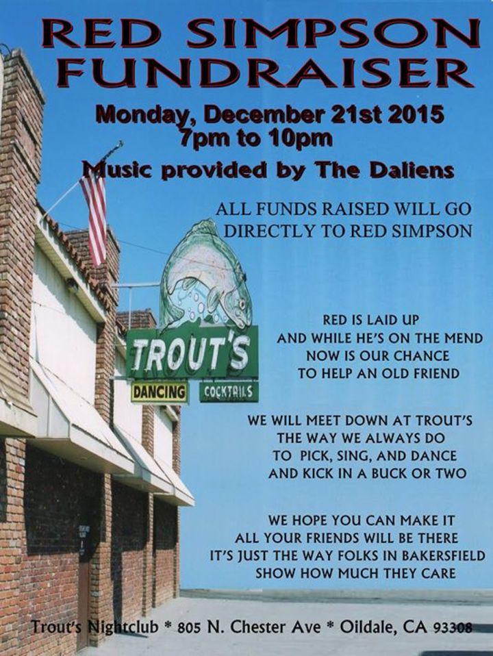 The Daliens Tour Dates