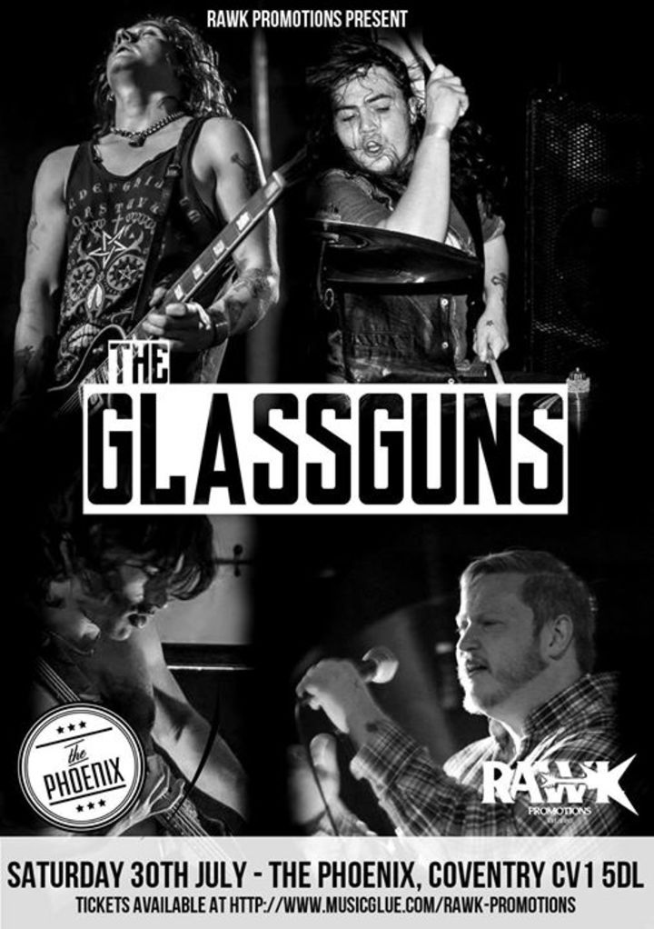 The Glassguns Tour Dates