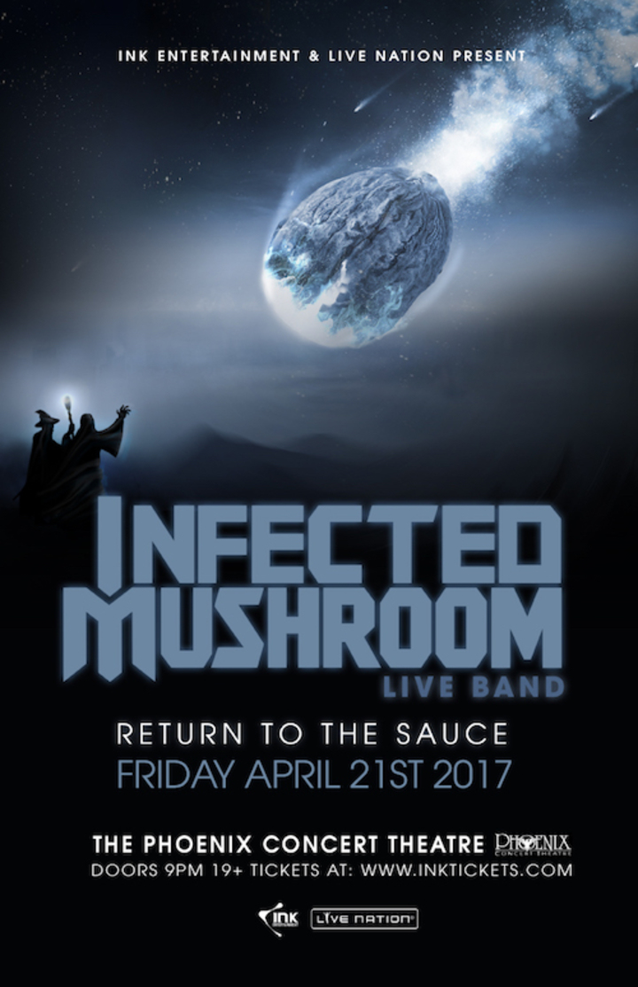 Infected Mushroom @ The Phoenix Concert Theatre - Toronto, Canada