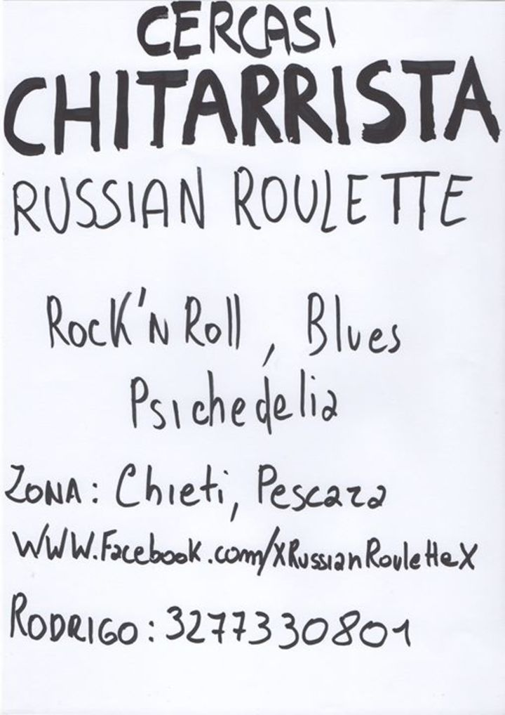 Russian Roulette  _  Sexy'n'Fury Rock'n'Roll Band Tour Dates