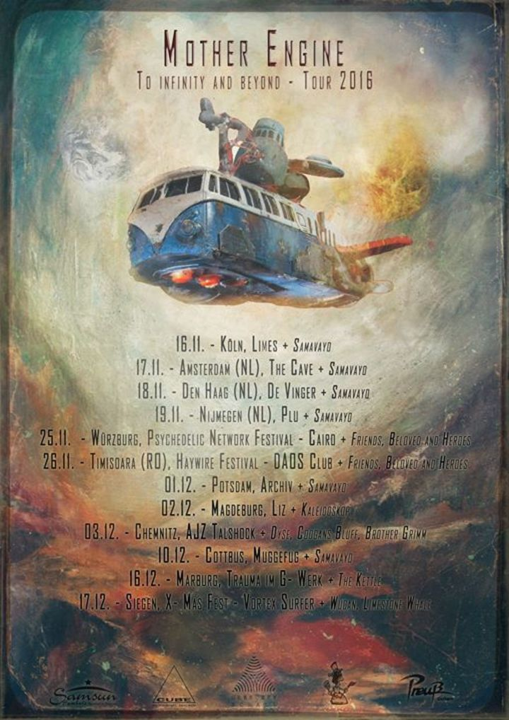 Mother Engine Tour Dates