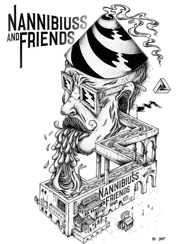 Nannibiuss and Friends Tour Dates