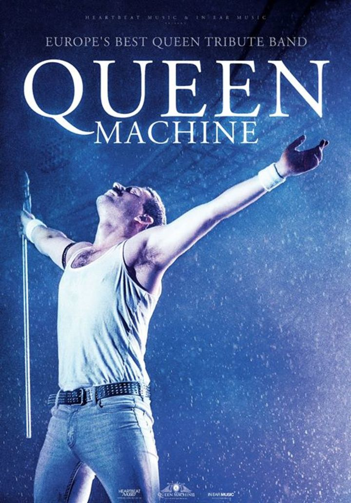 Queen Machine @ Magasinet  - Odense, Denmark