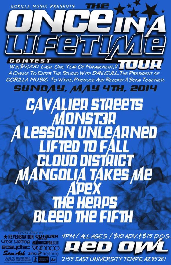 M0nst3r Tour Dates