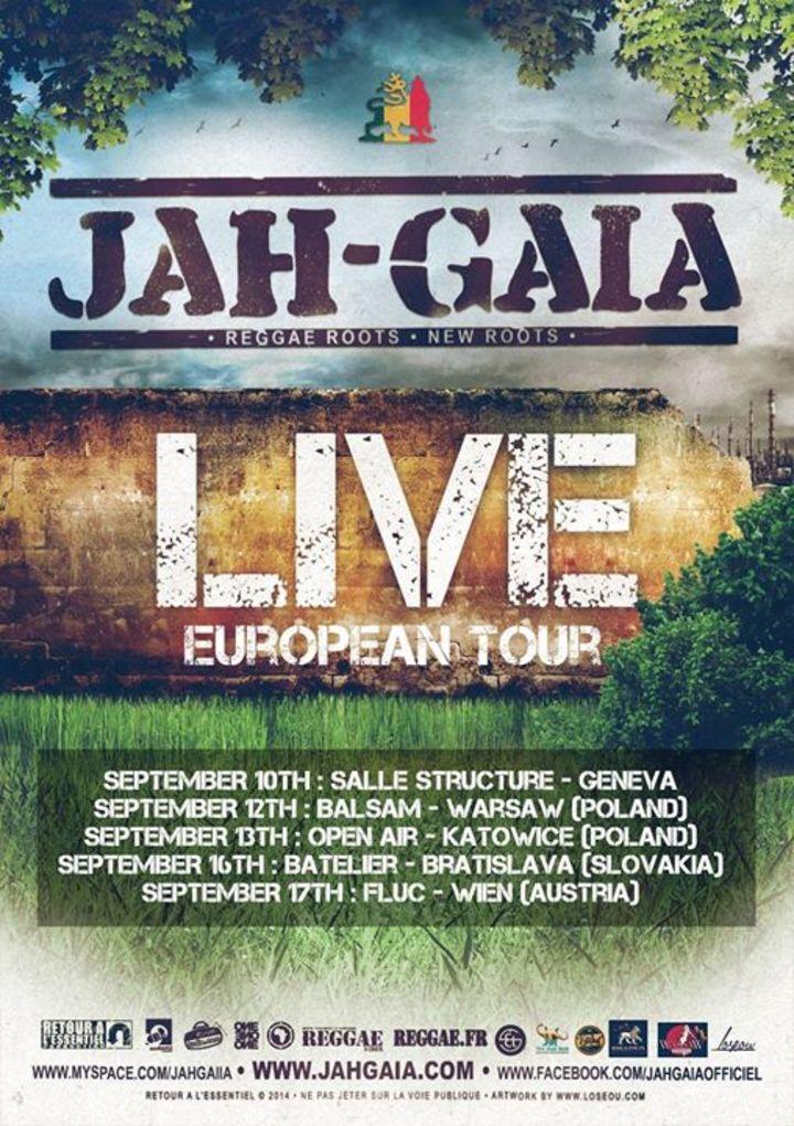 Jah Gaïa Tour Dates