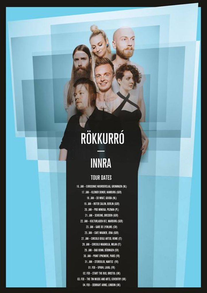 Rökkurro Tour Dates