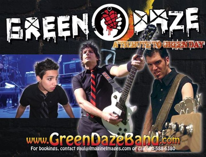Green Daze Tour Dates