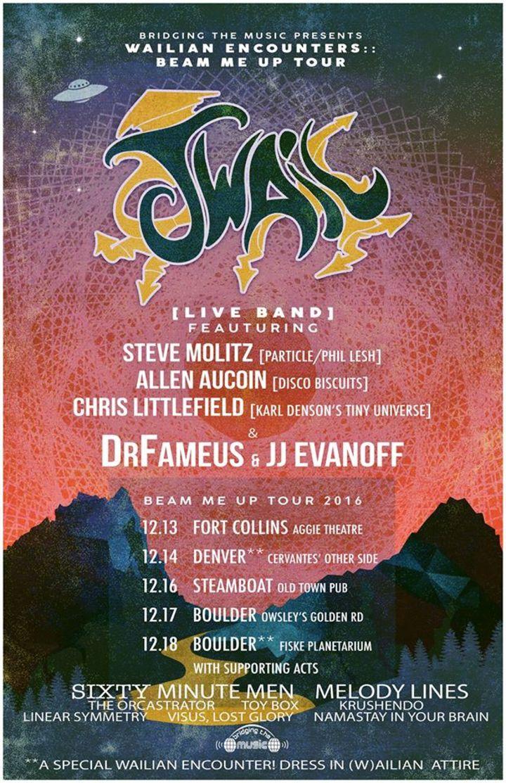 J.WAIL Tour Dates