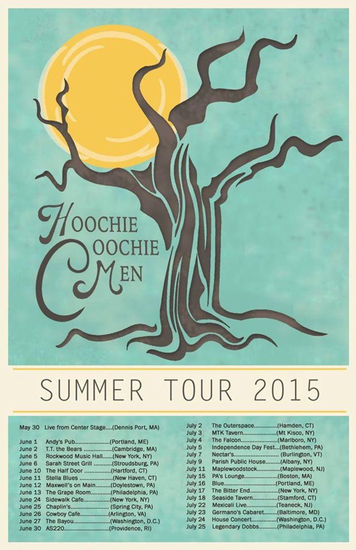 Hoochie Coochie Men Tour Dates