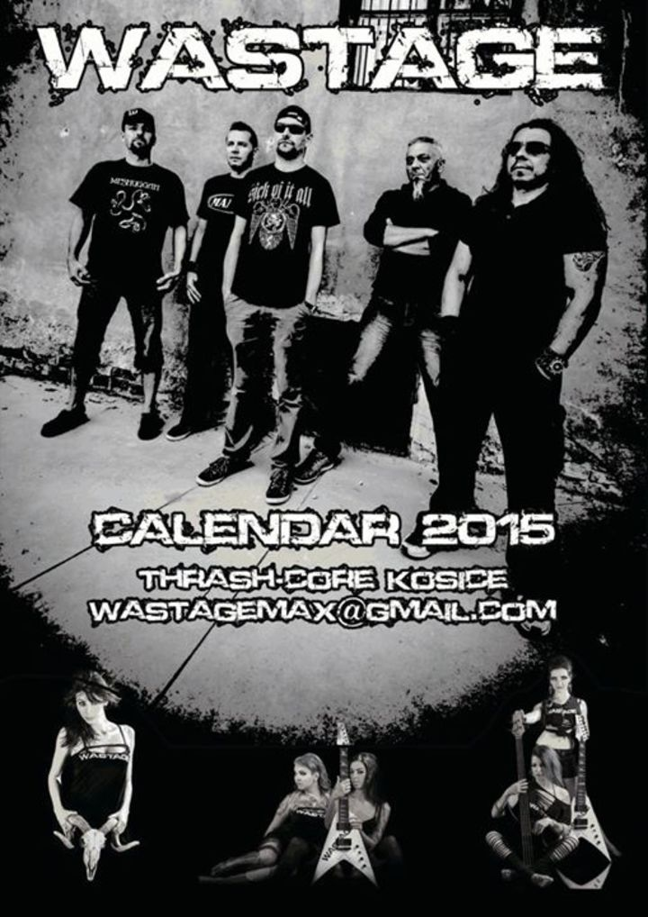 Wastage girl calendar 2015 Tour Dates