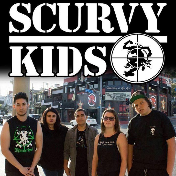Scurvy Kids Tour Dates