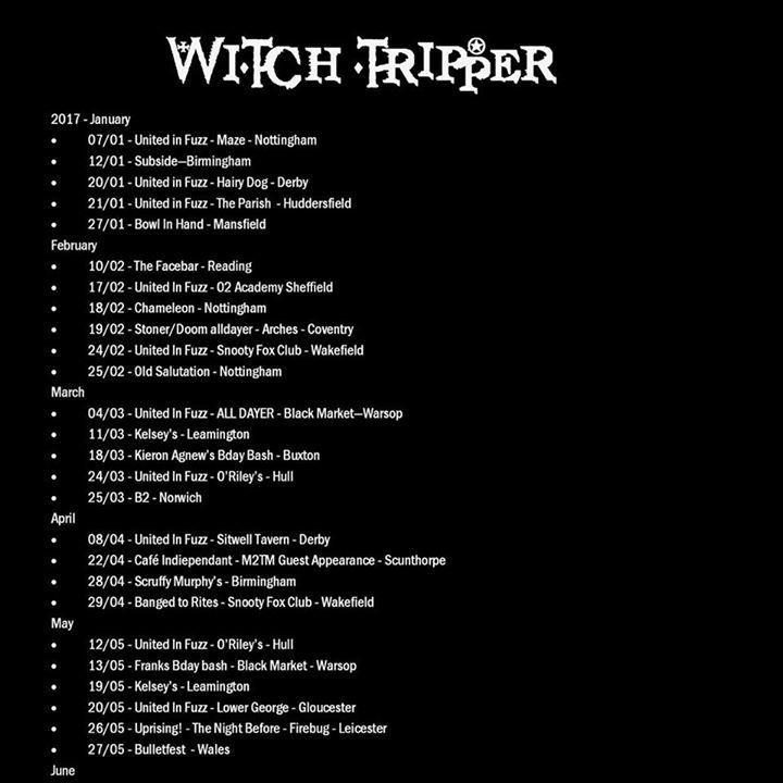 Witch Tripper @ The Hairy Dog - Derby, United Kingdom