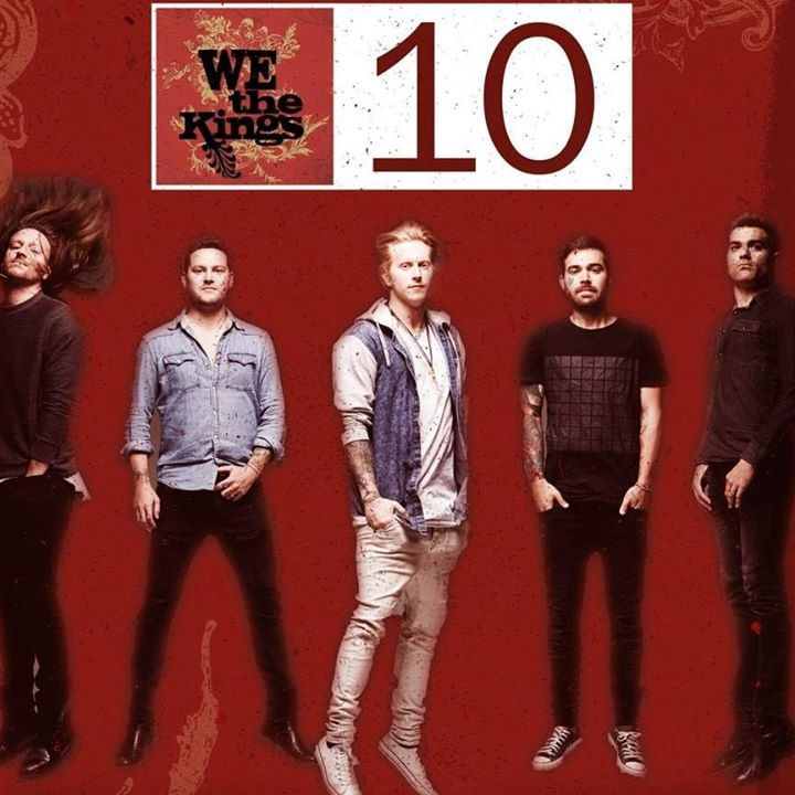 We the Kings Tour Dates
