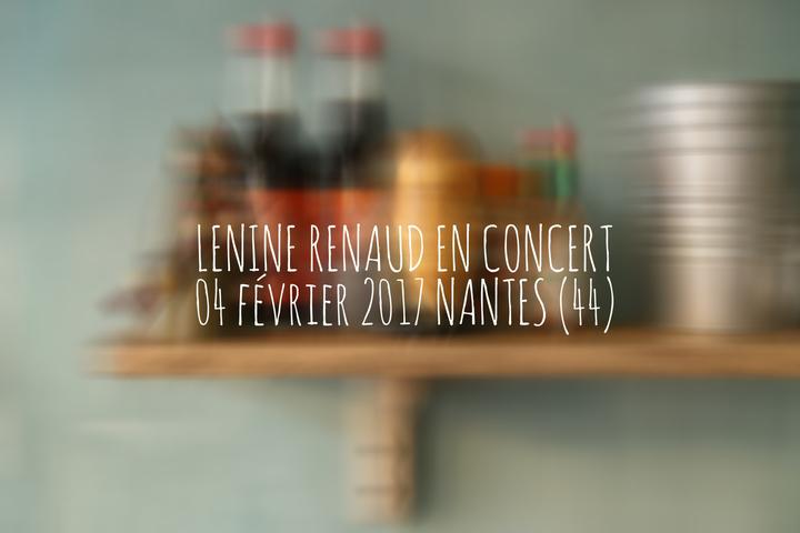 LENINE RENAUD @ La bouche d'air - Nantes, France