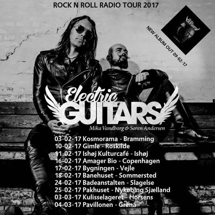 Electric Guitars Tour Dates