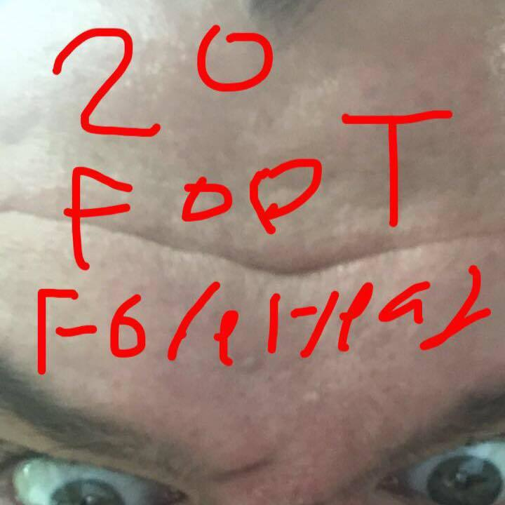 20 Foot Forehead Tour Dates