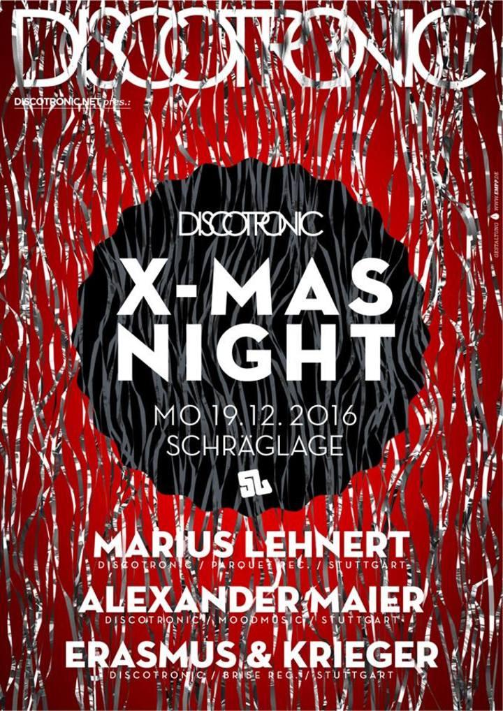 Erasmus & Krieger @ Discotronic Night @ Schräglage - Stuttgart, Germany