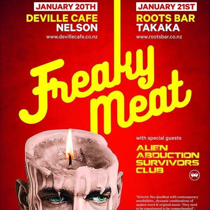 Freaky Meat Tour Dates