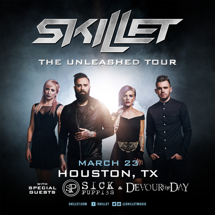 Skillet @ House Of Blues - Houston, TX