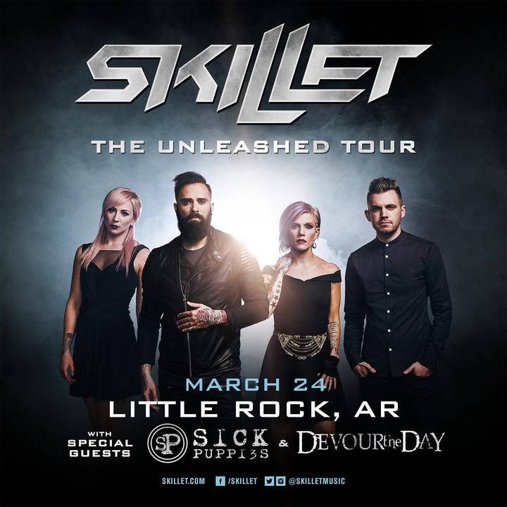 Skillet @ Metroplex - Little Rock, AR