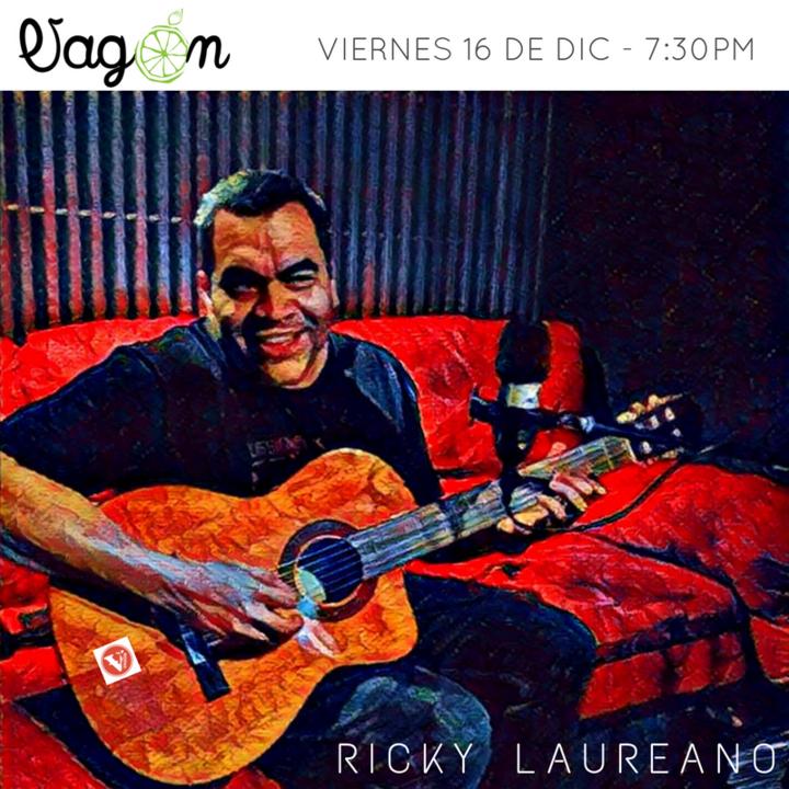 Ricky Laureano @ Vagón - San Juan, Puerto Rico