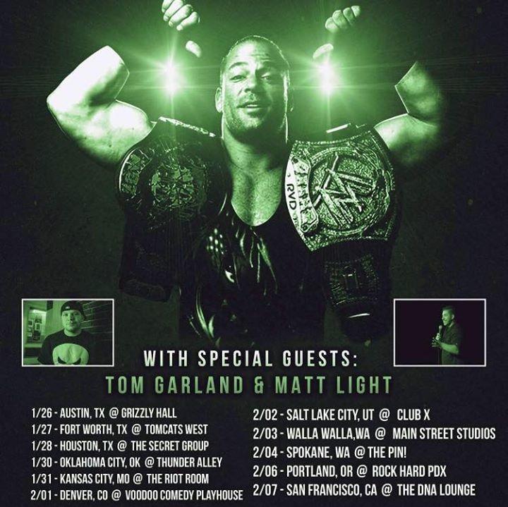 Tom Garland Tour Dates