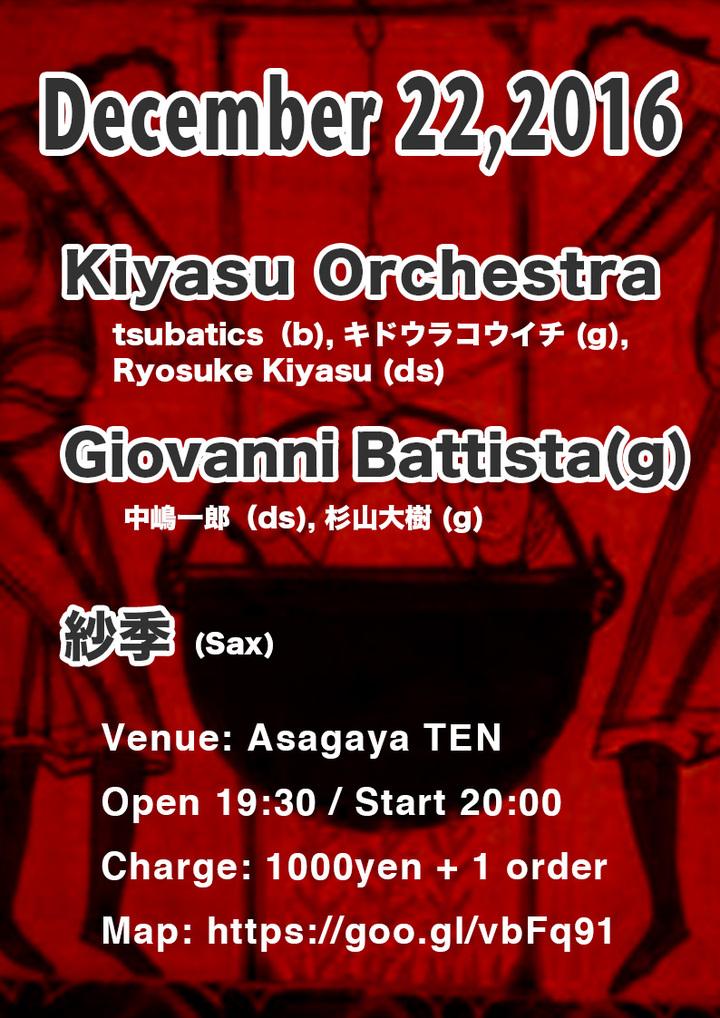 Kiyasu Orchestra @ Asagaya TEN - Tokyo, Japan