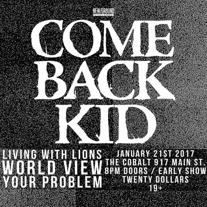 Comeback Kid Tour Dates