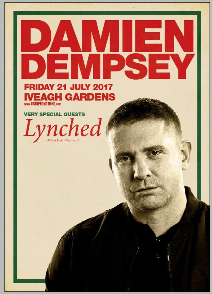 Damien Dempsey @ Iveagh Gardens - Dublin, Ireland