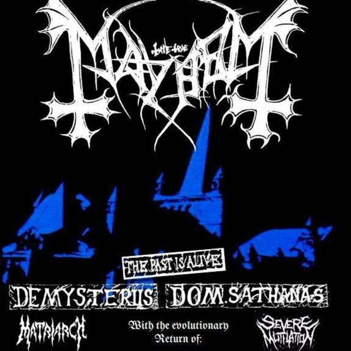 Severe Mutilation Tour Dates