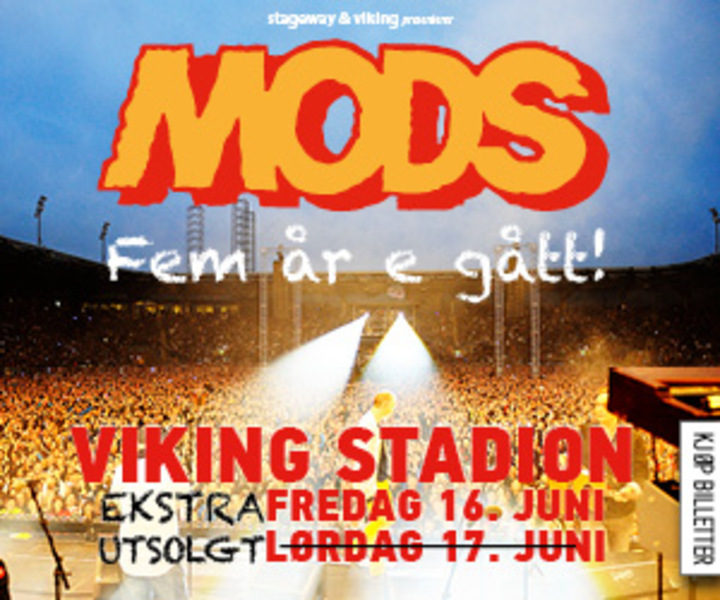 Morten Abel @ MODS @ Viking Stadion - Stavanger, Norway
