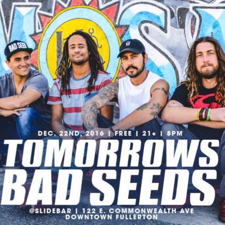 Tomorrows Bad Seeds Tour Dates