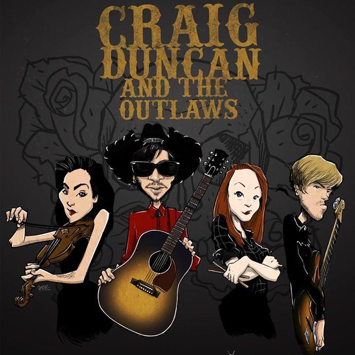 Craig Duncan & The Outlaws Tour Dates