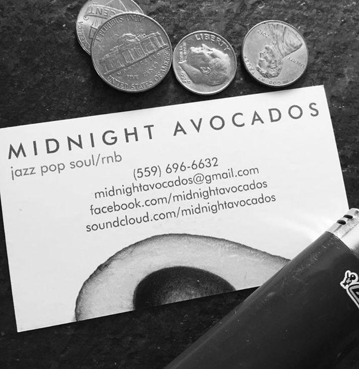 Midnight Avocados Tour Dates