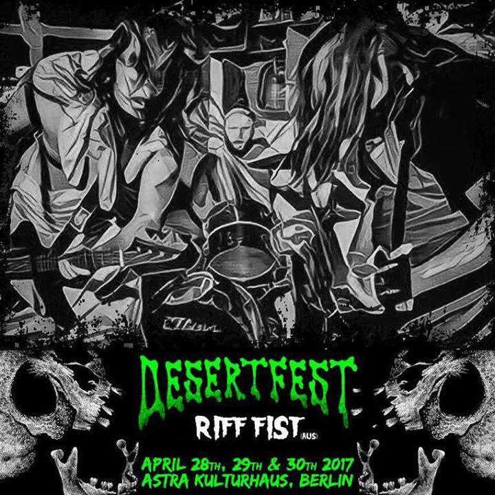 Riff Fist Tour Dates