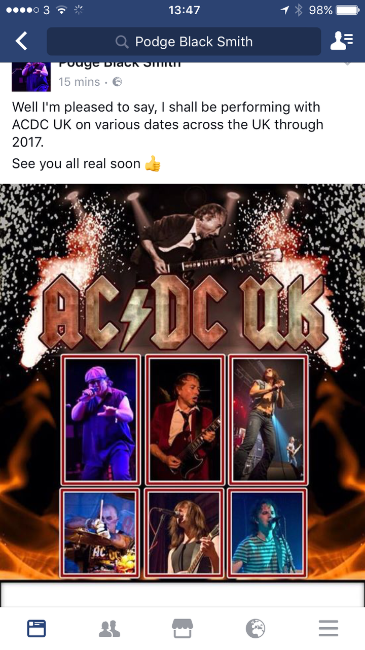 AC/DC UK @ Quoit Club - Guisborough, United Kingdom