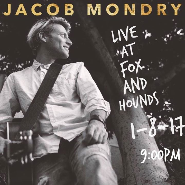 Jacob Mondry Tour Dates