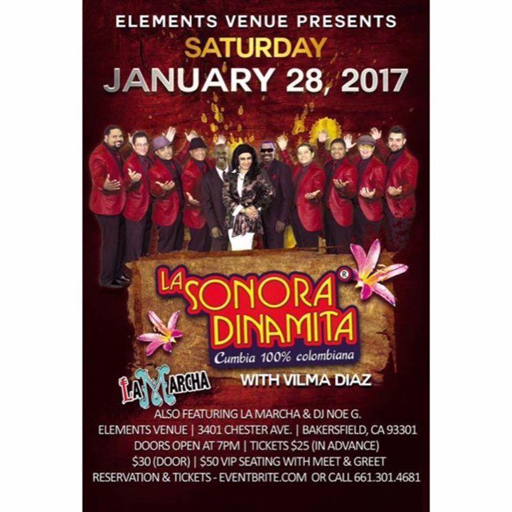 La Marcha @ Elements Venue - Bakersfield, CA