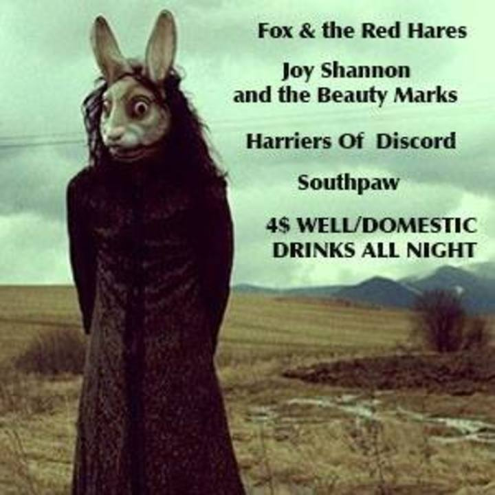 Fox and the Red Hares Tour Dates