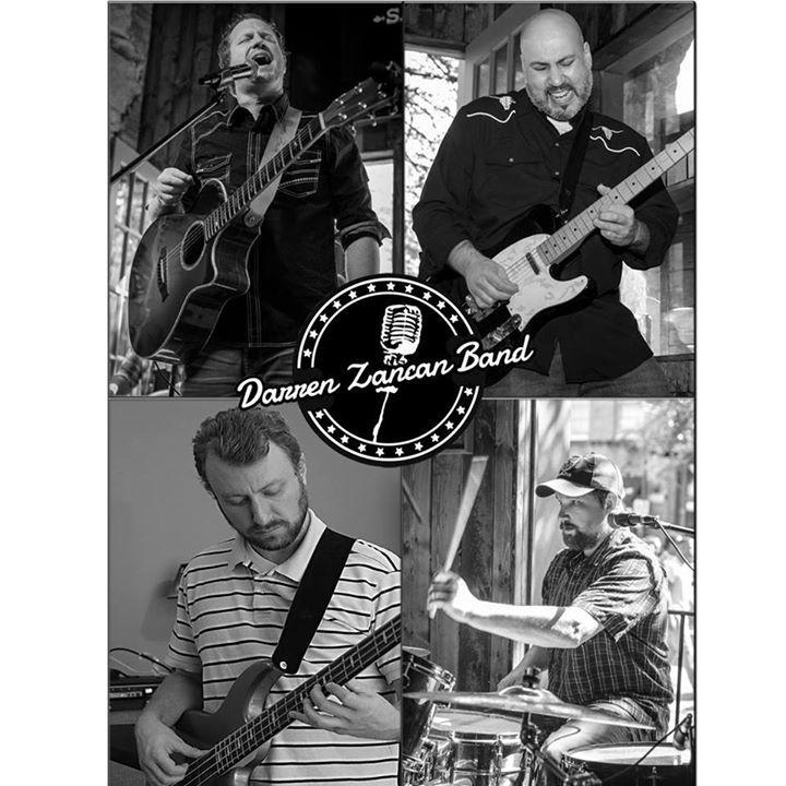 The Darren Zancan Band Tour Dates