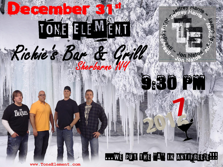 TONE ELEMENT @ Richie's Bar & Grill - Sherburne, NY