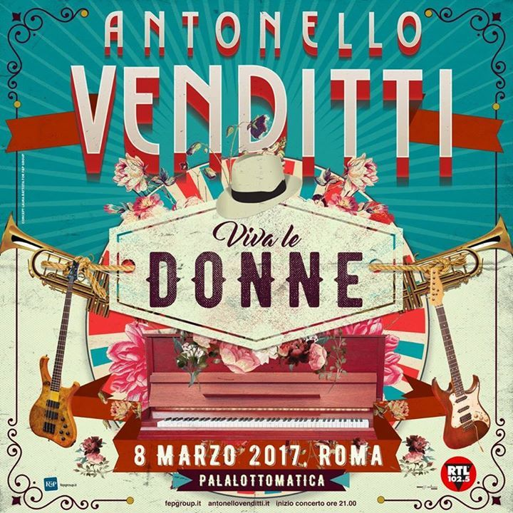 Antonello Venditti Tour Dates
