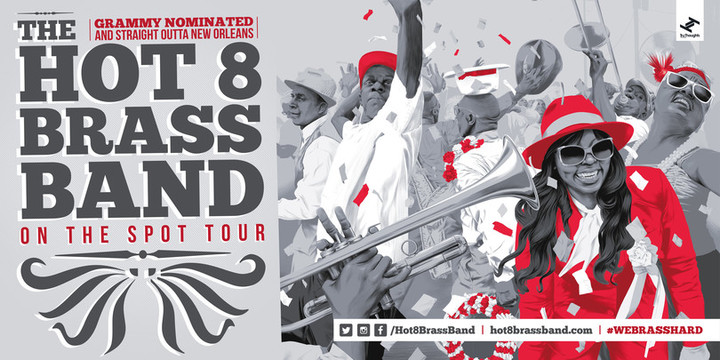 Hot 8 Brass Band Tour Dates