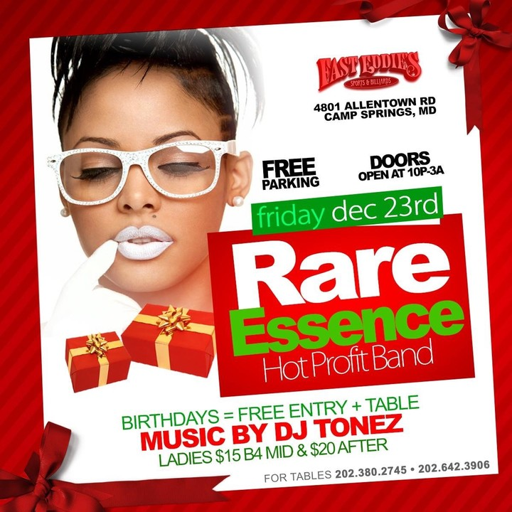 Rare Essence @ Fast Eddies - Camp Springs, MD