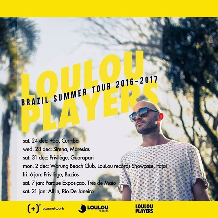 LouLou Players Tour Dates